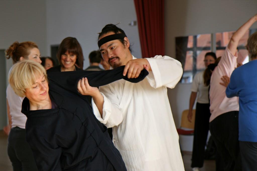 Workshop mit Tian Liyang Oktober 2007 in Bonn
