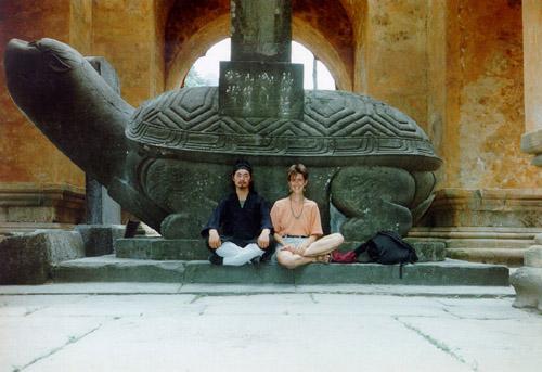Tian Liyang und Marianne Herzog